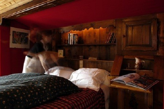 Chambre Prestige Traditionnelle Megeve