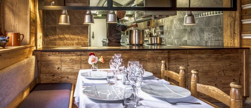 Cuisine restaurant Megeve