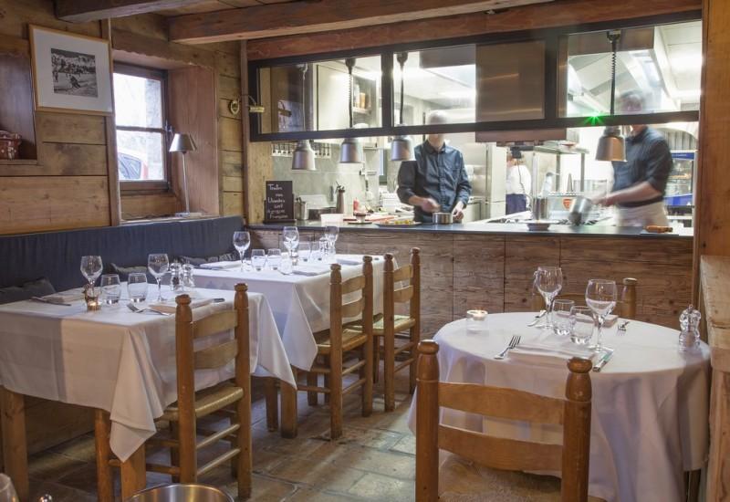restaurant le saint nicolas megeve